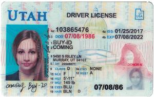 Utah ID-Buy-id.com