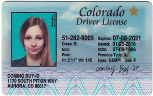 Colorado ID (Dob before Mar.20,1995 )-Buy-id.com