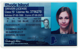 Rhode Island ID (Dob before Sep.1,1995)-Buy-id.com