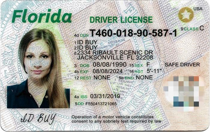 Florida id Positive photos