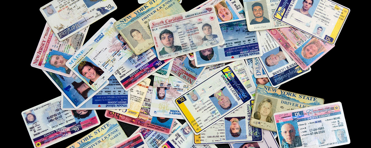 Many people use fake ID cards